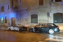 Gioia del Colle, a fuoco le auto di un carabiniere