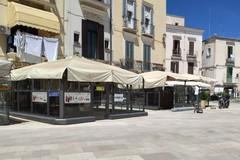 Fino al 50 percento in più di suolo pubblico per bar e ristoranti, c'è la delibera del Comune di Bari