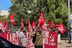 """Bari, anche il partito comunista protesta:""""Serve uscire dalla gabbia europea"""""""