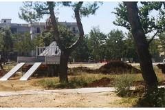 Bari, riprendono i lavori nel giardino Peppino Impastato a Catino