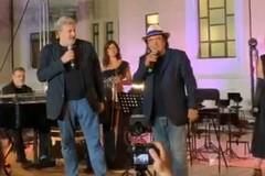 Il concerto di Albano per il personale Covid del Policlinico