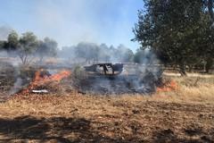 Incendi nelle campagne di Bari, 3 denunce della polizia locale