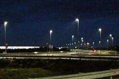 """Triggiano, si illumina la strada per Bariblu e diventa """"viale Pietro Mennea"""""""