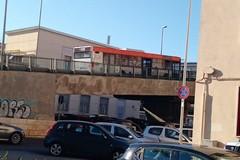 Bari, pullman si blocca sul ponte traffico in tilt a Japigia