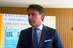 Conte a Cerignola sulle elezioni in Puglia