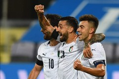 Nazionale, primo goal azzurro per Ciccio Caputo: «Il mio meglio dopo il Bari»