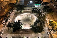 Bari, arrivano le luci al parco di via Caldarola, ora manca solo il nome