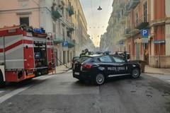 Bari, rogo in strada la mattina di Natale a Madonnella