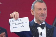 I Maneskin vincono Sanremo, sul podio un po' di Bari con Ermal Meta