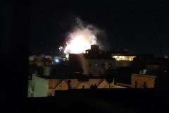 Italia in finale, a Bari si festeggia coi fuochi d'artificio