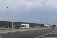 Incidente in tangenziale a Bari, traffico rallentato