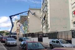 Live painting di C215 e azioni di attivismo civico per la festa finale del progetto QM San Paolo