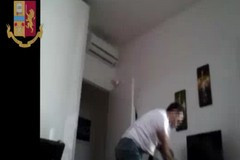 Rapina in un appartamento di Carbonara