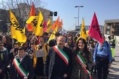 Il Comune di Bari a Brindisi alla marcia in ricordo delle vittime innocenti delle mafie