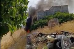 Continuano i roghi a Bari, ieri incendio di rifiuti tossici