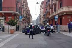 Bari, traffico intenso e due incidenti nel giro di un'ora
