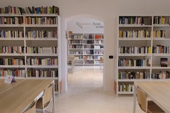 """Sannicandro di Bari, taglio del nastro per la biblioteca di comunità """"Vito Bavaro"""""""