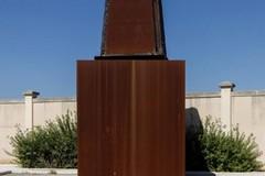 Bari, la Carboniera di Jannis Kounellis ospitata nel parco della ex Rossani