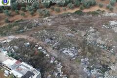 Casamassima, 5 mila metri di terreno usati come discarica, scatta il sequestro
