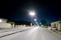 Bari, nuova illuminazione per l'ultimo tratto di via Gentile e il ponte del canale Valenzano