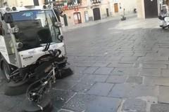 Bari, Amiu pronta a pulire le strade negli orari notturni