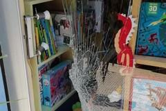 Bari, furto con spaccata in libreria