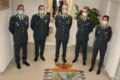 Guardia di Finanza, il comandante regionale Francesco Mattana in visita a Monopoli