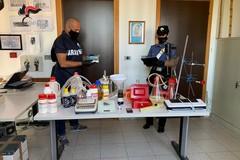 Conversano, scoperto laboratorio di anfetamine in un garage. Due arresti