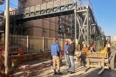 Bari, partono i lavori per il marciapiede della nuova passerella di via Traiano