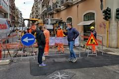 Rete gas, completati lavori in via Andrea da Bari. Si passa alle aree limitrofe