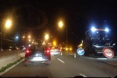 Lavori in corso sulla tangenziale in direzione Bari. Traffico rallentato a Sant'Anna