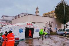 Tempo di pensioni alle poste, a Valenzano arrivano le tende per l'attesa