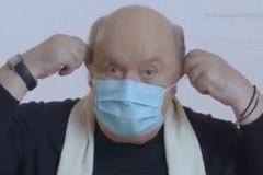 Lino Banfi testimonial del video sul corretto uso della mascherina