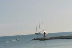 Tappa a Bari per lo yacht più grande del mondo