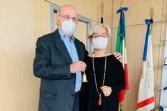 Consiglio regionale della Puglia, passaggio di consegne fra Mario Loizzo e Loredana Capone