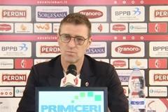 Verso Bari-Foggia, Carrera: «Derby partita particolare. Vincerà chi lo vorrà di più»