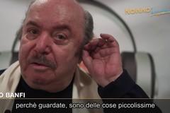 """Lino Banfi protagonista dello spot di """"Nonno Ascoltami!"""""""