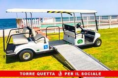 Bari, sulla spiaggia di Torre Quetta arrivano i mezzi elettrici per i disabili