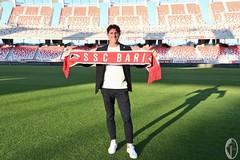 SSC Bari, si presenta Mignani: «Sono un allenatore concreto». Polito: «Antenucci nostro bomber»