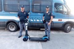Ritrovati grazie al gps i due monopattini rubati a Bari, denunciato un 63enne