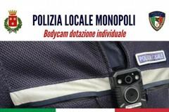 """Monopoli, agenti della polizia locale dotati di bodycam: """"Per prevenire le aggressioni"""""""