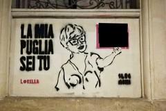 Puglia, un murale con offese sessiste all'assessore regionale Loredana Capone