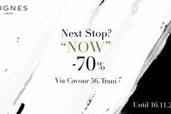 Sconto del 70% da Nugnes a Trani