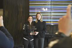 Pink Bari, Noemi Manno premiata come miglior calciatrice di novembre in serie A