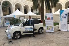 Ecologia, arriva a Bari la prima panda a Biometano