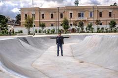 """Bari, terminata la pista da skate nel parco Rossani: """"Un contest per inaugurarla"""""""