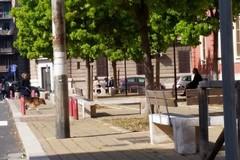 Quartiere Libertà, prosegue il lavoro di pulizia, sistemata piazza del Redentore