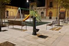 Ceglie del Campo, completata la nuova piazza Diaz