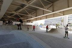 Skate park e doppio canestro, sotto il ponte Adriatico il playground coperto più grande d'Italia