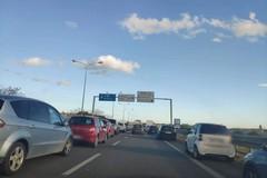 Incidente sulla tangenziale a Bari, sei veicoli coinvolti